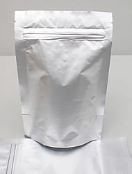Bleuets 10*15+5cm in Pink Light Pure Aluminum Foil Ziplock Bags
