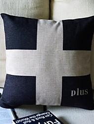 Clássico Símbolo Matemático Decoração Pillow Com Insert