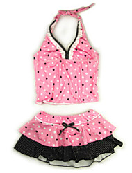 Girl's Swimwear Nylon Summer