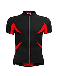 JAGGAD Cycling Tops / Jerseys Men's / Unisex Bike Breathable / Quick Dry Short Sleeve Polyester / Elastane Patchwork BlackS / M / L / XL