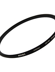 NISI® 77mm MRC UV Ultra Violet Ultra-thin double-sided multilayer coating lens Filter Protector for Nikon Canon Sony Cameras