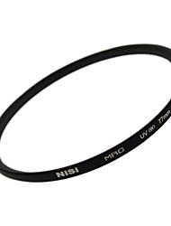 НИСИ 77mm MRC UV Ультрафиолетовый Ультратонкий двусторонняя Многослойное покрытие линз Фильтр протектор для Nikon Canon камер Sony