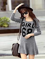 Women's Casual / Cute Dress Mini Chiffon