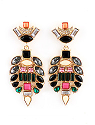 Kayshine Women's Elegant Colorful Bead Strands Earrings