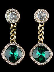 Tango Fashion Jewelry Studs/Earrings(Red,White,GreenEZ0096)