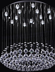 SL® Luxury Crystal Bead 13 Lights Chandelier in Round Shape