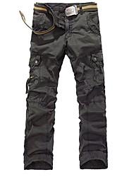 grands chantiers de coton salopettes pantalons de poche des hommes