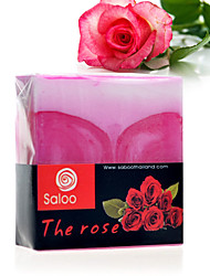 Thaïlande Saboo Rose Essential Oil Savon Hydratant Anti-Blanchiment acné 100g