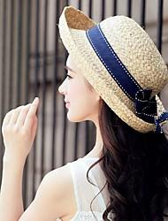 Femme Vannerie Casque-Décontracté / Extérieur Chapeau