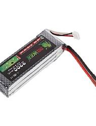 Leeuw 11.1V 2200mAh 30C Lipo Battery Power voor RC Model Car Helicopter 450 3D (T Plug)