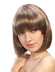Capless High Quality Synthetic Short Bob  Hair Wigs