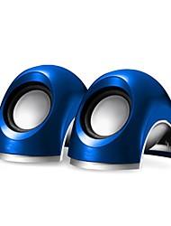 Music-M-13  High Quality Stereo USB 2.0Multimedia Speaker  (Blue)