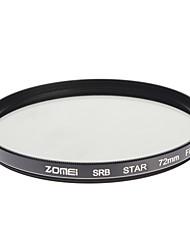 ZOMEI Camera ottici professionali cornice stelle 6 Filter (72 millimetri)