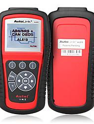 Autel® autolink al619 abs / OBDII SRS può scanner strumento diagnostico