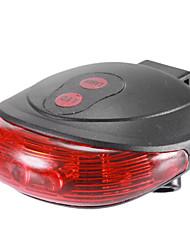 SL-116 7-Mode Waterproof Laser Tail Light(2xAAA,Black)
