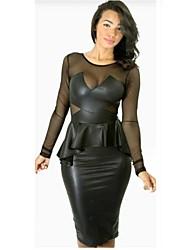 Venta caliente de las mujeres clásicas del estilo del vestido Sexy Nightclub
