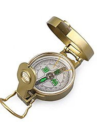 Military Style Brunton Klassische Lensatic Compass-Gold-