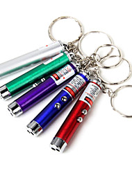 Lega di alluminio Key Buckle Style infrarossi Portable LED Flashlight (colore casuale)