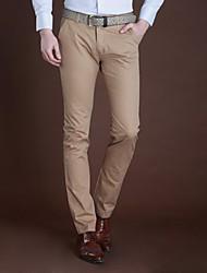 Мужские классические зауженные брюки