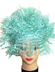 The Hedgehog Shape Synthetic Wig Green