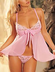 Ultra sexy rose de nuit de jupe de nuit des femmes de réveillon 6019