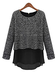 Women's Tops & Blouses , Cotton Blend Casual WISI