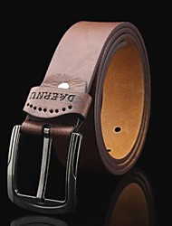 Men's Concise Leather Belt