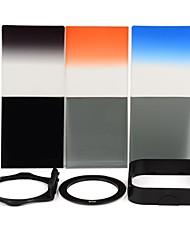 SHSYKJ08 10-en-1-3 progressifs Filtres / 3-ND Objectif + Ring + Mount Set pour 67mm Camera Lens - Noir