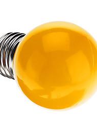 0.5W E26/E27 Ampoules Globe LED G45 7 LED Dip 50 lm Jaune Décorative AC 100-240 V