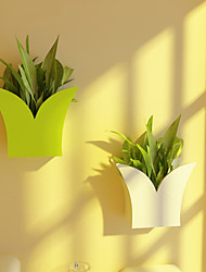 Fantastic Fresh Green Grass-shaped Natural Domestic Wall Mounted Storage Shelf