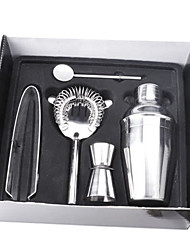 Set of 5 Stainless Steel Cocktails Shaker