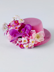 Women's Flower Girl's Silk Headpiece-Wedding Special Occasion Casual Flowers