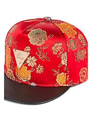 Unisex Peony Flat Hat