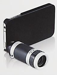 iPhone4 8X amovible Téléobjectif pour Iphone 5C - Noir