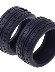 AX-6001 Gummi-Reifen für 1:10 RC On-road Car (2 Paar)