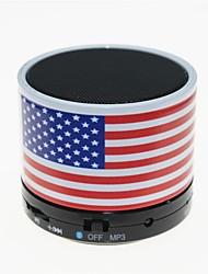 TS-S10 Функция MP3 Мини Bluetooth-динамик с TF порт и микрофоном для телефон / ноутбук / Tablet PC (Американский национальный флаг)