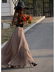Women's Dresses , Chiffon Ouman