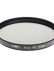 Zomei Kamera professionelle optische Rahmen Sterne 8 Filter (62mm)