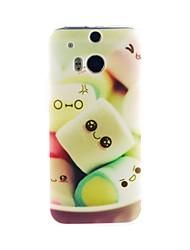 Pour Coque HTC Motif Coque Coque Arrière Coque Dessin Animé Flexible PUT pour HTC