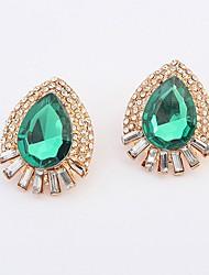 Shadela Vintage Green Fashion Earrings CE052