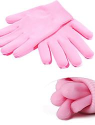 1 пара SPA перчатки Увлажняющий Уход Отбеливание Лечение ногтей каллуса & удаления кутикулы