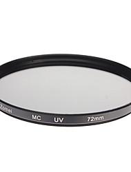 ZOMEI Camera ottici professionali Telaio MCUV Filter (72 millimetri)