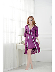 Women Babydoll & Slips/Robes/Satin & Silk Nightwear , Others/Satin