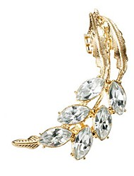 Shadela Diamond Gold Fashion Ear Clip CE031-1