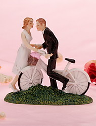 Cake Toppers Motorcycle Get Away  Cake Topper