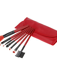 7 Makeup Brushes Set Synthetic Hair MAKE-UP FOR YOU