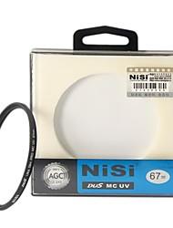 nisi® 67mm mc UV violett ultradünne doppelseitige Schutz mehrlagigen Beschichtung Objektivfilter für nikon Kanon Sony