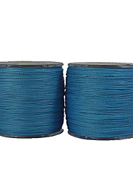 70-100LB 500M PE Braid Blue Fishing Line