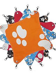 Belle forme de carré Toile Hamac pour Animaux Chiens (couleurs aléatoires)