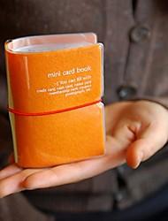 Playobje Huge-size Mini Card Book Orange Card Bag